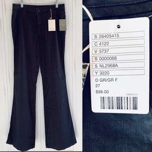 Anthropologie Shayla Darted Linen Pants